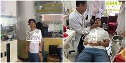 Độc quyền: Sáng 3/1 bắt gặp Công Phượng đi làm răng, tân trang nhan sắc tại TPHCM