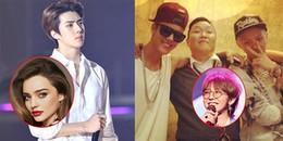 Không chỉ đông fan, loạt idol Kpop dưới đây còn được cả sao Hollywood đình đám hâm mộ