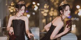 Địch Lệ Nhiệt Ba hóa thân nữ vương đẹp xuất sắc - khí chất có 1-0-2 ít người bì kịp