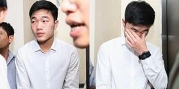Xót xa hình ảnh đội trưởng Lương Xuân Trường mệt mỏi thấy rõ vì lịch trình dày đặc
