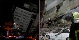 Động đất kinh hoàng ở Đài Loan: 2 người chết và 200 người bị thương