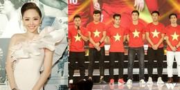 yan.vn - tin sao, ngôi sao - Dù tham dự chung sự kiện nhưng Tóc Tiên không được chụp hình chung U23, biết lý do mà tiếc