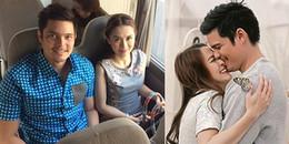 Vợ chồng mỹ nhân đẹp nhất Philippines tung ảnh mặn nồng, 'trốn con gái' đi chơi ngày Valentine