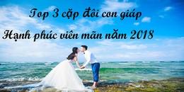 Top 3 cặp đôi con giáp sẽ hạnh phúc viên mãn nếu kết hôn vào năm 2018