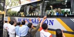 """Năm nay sinh viên Sài Gòn đỡ được loạt khó khăn nhờ """"Chuyến xe đoàn viên"""" về quê dịp Tết"""