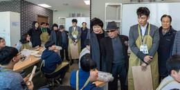 yan.vn - tin sao, ngôi sao - T.O.P tiều tụy thấy rõ trong ngày đầu tiên đi làm nhân viên phục vụ cộng đồng