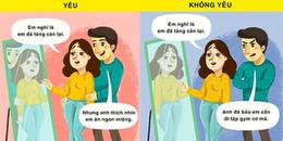 10 dấu hiệu tâm lí bắt 'chuẩn' người ấy yêu bạn thật lòng hay không