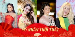 Những mỹ nhân 'cầm tinh' con Tuất 'tài sắc vẹn toàn' của showbiz Việt