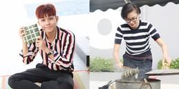 yan.vn - tin sao, ngôi sao - Ngô Thanh Vân và Jun Phạm tất bật gói bánh chưng đón Tết