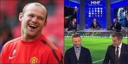 Rooney bất ngờ 'tạt gáo nước lạnh' vào huyền thoại Liverpool ở buổi bình luận bóng đá