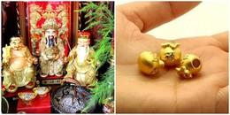 Vì sao ngày vía Thần Tài mọi người lại đổ xô đi mua vàng?