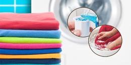 6 mẹo giặt quần áo kỳ lạ nhưng mang lại hiệu quả đến ngỡ ngàng