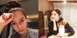 Khoe mặt mộc cực xinh, những mỹ nhân Hoa ngữ này lại đốn tim fan những ngày đầu năm