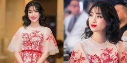Lâu lắm mới đổi kiểu tóc một lần, Hoa hậu Đỗ Mỹ Linh nhận được 'cơn mưa' lời khen