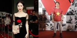 yan.vn - tin sao, ngôi sao - Hòa Minzy - Công Phượng lần đầu tiên dự chung một sự kiện sau chia tay