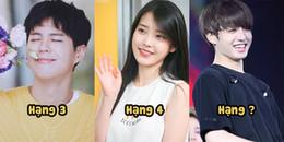 Top 5 sao Hàn có sức mạnh khiến người khác hạnh phúc chỉ bằng 1 nụ cười