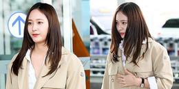 Thì ra nữ thần như Krystal cũng gặp cảnh tăng cân chóng mặt sau Tết thế này đây!