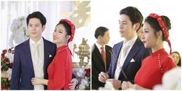 Khoảnh khắc đẹp trong lễ đính hôn của Mai Hồ và bạn trai 'soái ca' người Đức