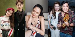 Mới đầu năm 2018, showbiz Việt đã lắm ồn ào về scandal tình cảm