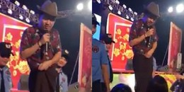yan.vn - tin sao, ngôi sao - Sau ném chai, Trường Giang lại bị fan nữ kéo quần trên sân khấu