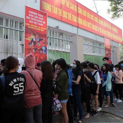 """""""Cháy vé"""" giao lưu U23 Việt Nam trên sân Thống Nhất"""
