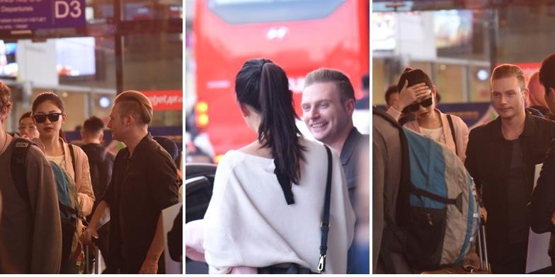 yan.vn - tin sao, ngôi sao - Á hậu Thanh Tú thân mật với Kyo York ở sân bay, rộ nghi án đang hẹn hò