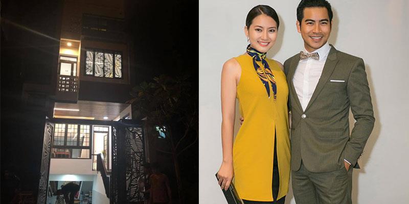 yan.vn - tin sao, ngôi sao - Thanh Bình hào hứng khoe ngôi nhà 5 tầng tặng bà xã Ngọc Lan và con trai