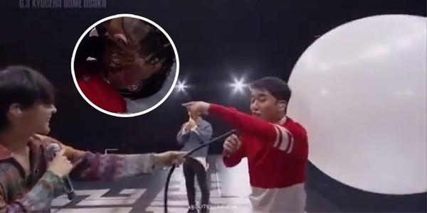 Fan cười ngất khi G-Dragon dùng bong bóng hãm hại khiến Seungri sợ khóc thét