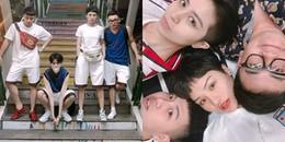 """yan.vn - tin sao, ngôi sao - Không chỉ mặc quần đôi, Gil Lê - Miu Lê còn tựa đầu """"tình tứ"""" trên giường"""