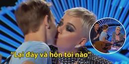 Katy Perry bị chỉ trích là quấy rối tình dục khi cướp nụ hôn đầu đời của thí sinh tại American Idol