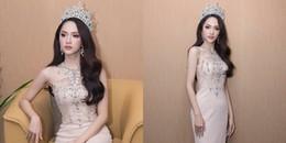 Đây là bộ cánh mới nhất của Hương Giang sau khi đăng quang Hoa hậu đến giờ