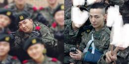Cùng nhập ngũ: G-Dragon thương tích đầy mình còn Taeyang thì béo tốt như thế này đây