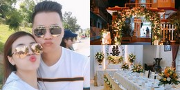 yan.vn - tin sao, ngôi sao - Á quân The Voice 2015hạnh phúc khoe ảnh không gian lễ đính hôn với bạn trai hơn 7 tuổi