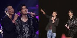 Fan Hoa ngữ tan chảy trước màn song ca của 2 'Thiên Vương thời đại' Lưu Đức Hoa và Châu Kiệt Luân