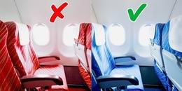 Hầu hết ghế ngồi trên máy bay đều màu xanh, nhưng lí do thì không phải ai cũng biết