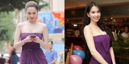 Sở hữu tủ quần áo hiệu khủng, Ngọc Trinh vẫn diện lại váy 5 năm trước