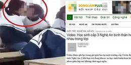 Kiểm tra trang mạng đăng clip 'Nữ sinh hôn nhau'