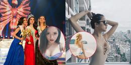 Nhan sắc đời thường bốc lửa của Hương Giang Idol trước khi đăng quang Hoa hậu