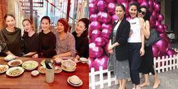 yan.vn - tin sao, ngôi sao - Giữa nghi án mang bầu lần 3, Tăng Thanh Hà liên tục che bụng khi đi ăn