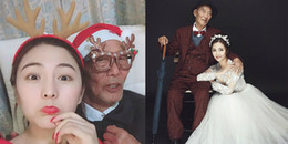 Sự thật rơi nước mắt đằng sau bộ ảnh cưới của thiếu nữ 9x và 'chú rể' 87 tuổi
