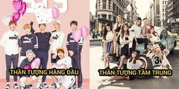Bản đồ Kpop 2018 gây tranh cãi: SNSD tụt xuống idol tầm trung, idol group thế hệ 3 lên ngôi