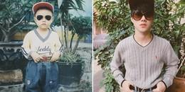 Chàng trai này đã chứng minh thành công, đẹp trai thì dù bé hay lớn vẫn không hề thay đổi!