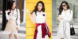 Trương Quỳnh Anh sang chảnh hết nấc với thời trang đường phố