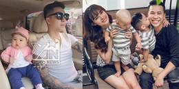 yan.vn - tin sao, ngôi sao - Cuộc sống hạnh phúc với vợ đẹp, con xinh của thành viên nhóm The Men