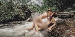 Bộ ảnh cưới nude toàn thân đến 'đốt mắt' của cặp đôi trẻ khiến CĐM tranh cãi nảy lửa