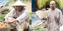 """yan.vn - tin sao, ngôi sao - Mike Tyson gây """"sốt"""" khi đội nón lá, mặc áo bà ba bán trái cây tại Việt Nam"""