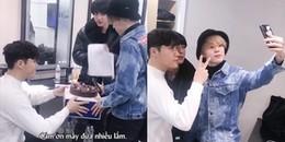 Biết tiền bối Lee Hyun cùng công ty comeback, Jin và Jimin đã âm thầm thực hiện điều bất ngờ này đây