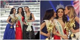 Khoảnh khắc đăng quang Hoa hậu Chuyển giới Quốc tế 2018 không thể quên của Hương Giang Idol