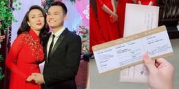 yan.vn - tin sao, ngôi sao - Rò rỉ thiệp cưới có 1-0-2 của Khắc Việt và bà xã DJ xinh đẹp