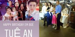 yan.vn - tin sao, ngôi sao - Vợ chồng Phạm Quỳnh Anh - Quang Huy tổ chức sinh nhật hoành tráng cho con gái cưng